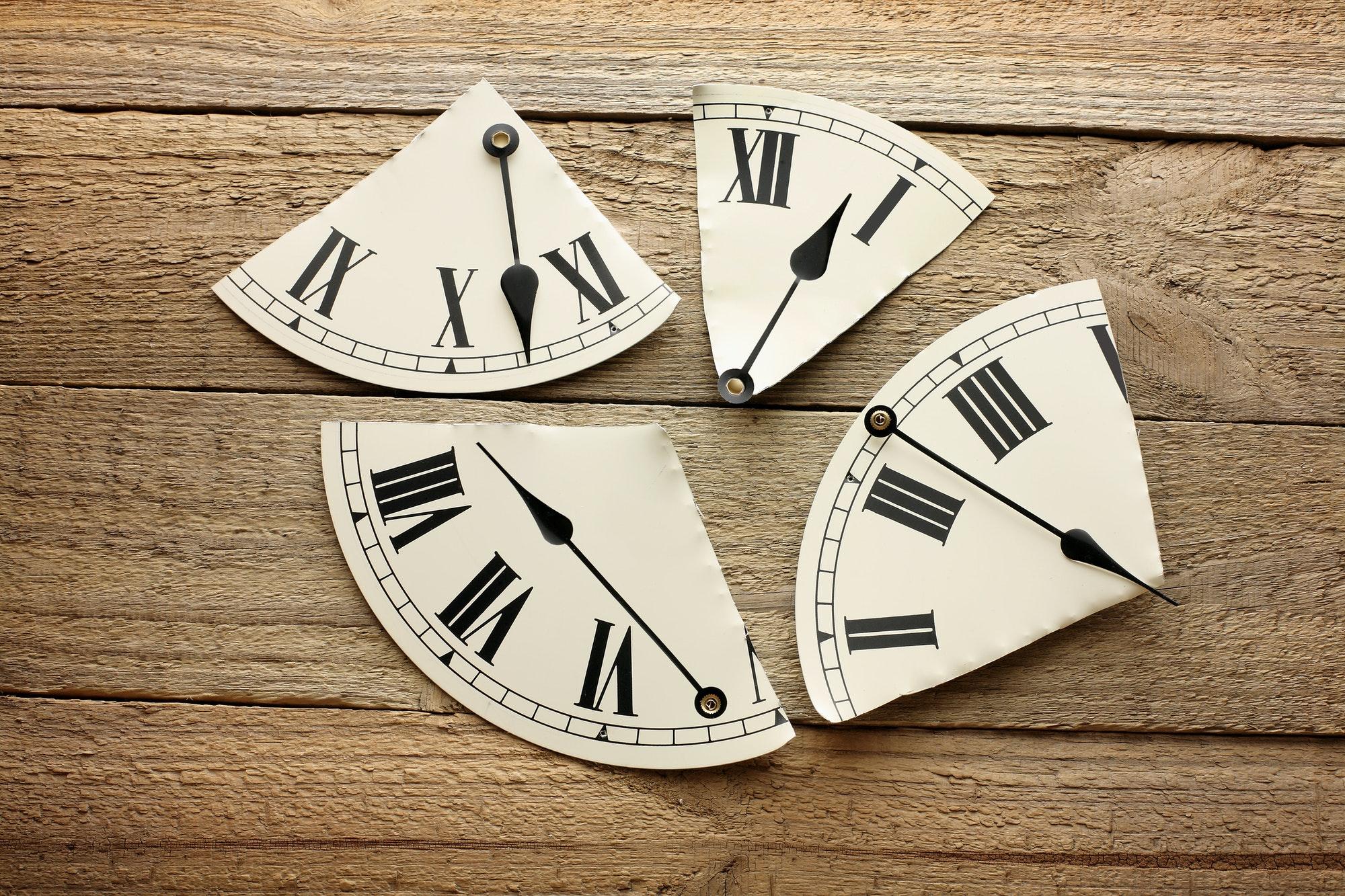 時間の奴隷宣言。1分間と1時間の価値を見直す日。