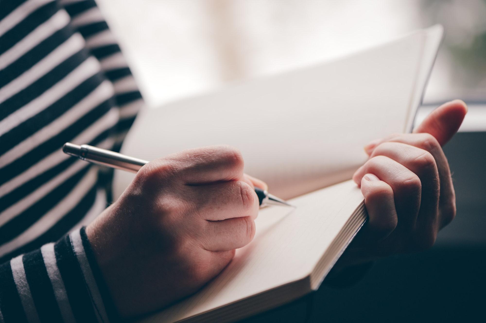日記を、○年、○十年も続けている、という自分になりたかった。